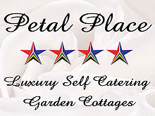 Petal Place Self-Catering Garden Cottage - Your hosts, Glenys and Basil, invite you to stay in their luxury, self- catering, garden cottages, where they guarantee you a comfortable and restful stay, friendly service and warm Free State hospitality.